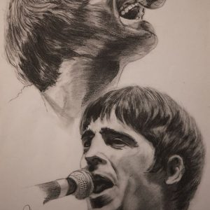 OASIS - Noel Gallagher and Liam Gallagher