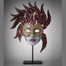 Masks on Stands